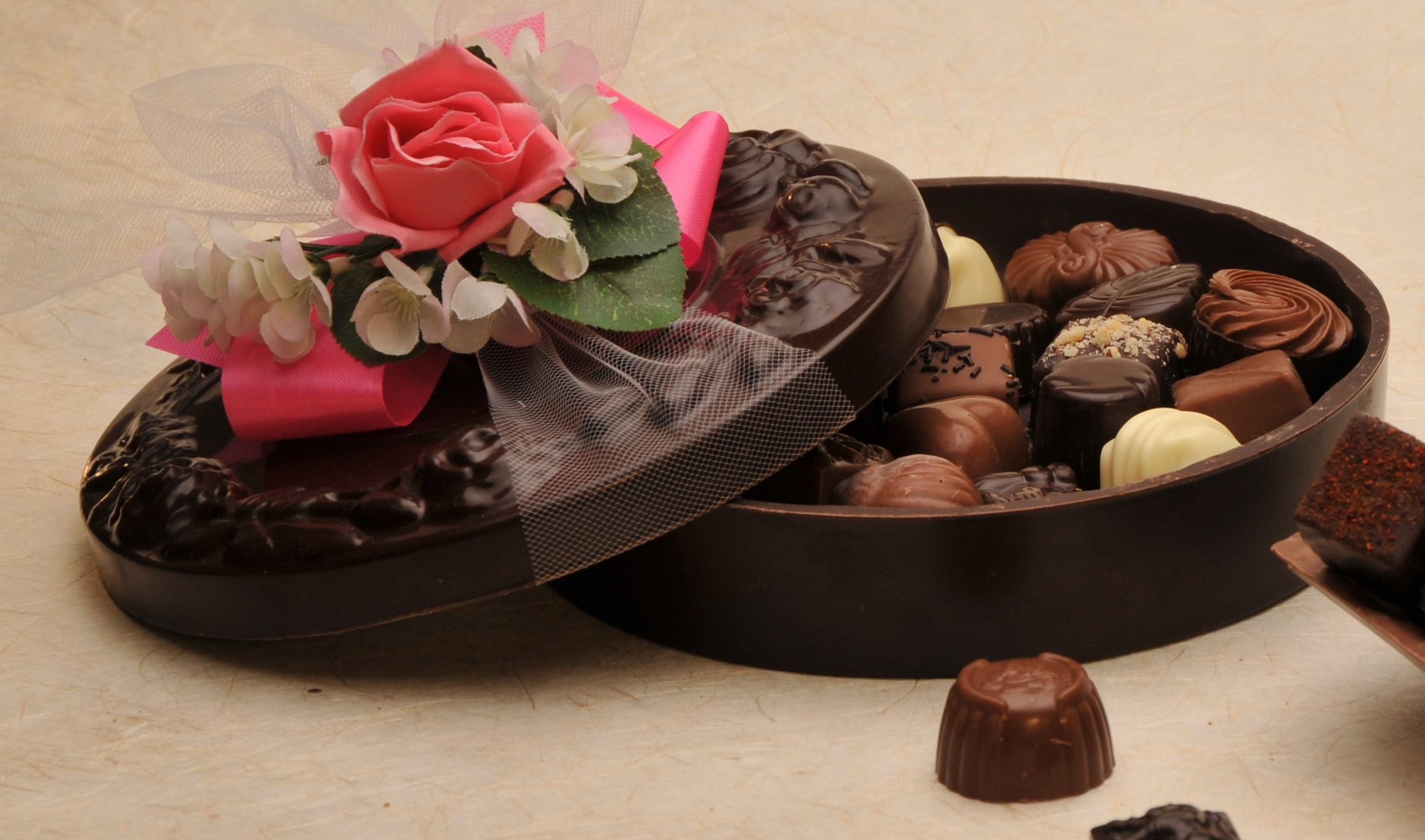 Floral Chocolate Box