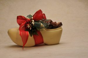 Chocolate Wooden Shoe
