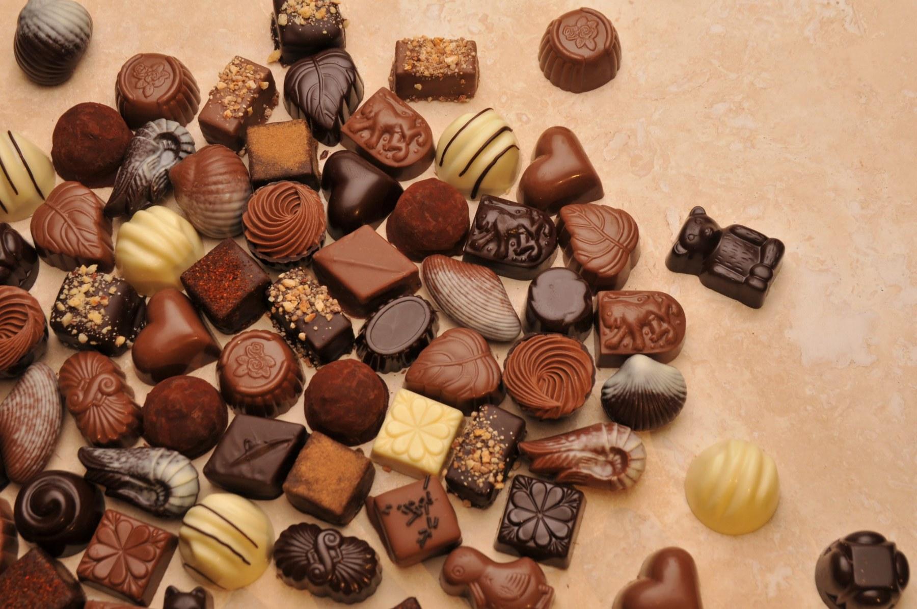 Assortment of Belgian Chocolates