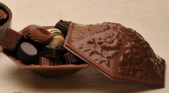 Chocolate Candy Dish