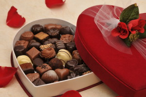 Traditional Velvet Valentine Box of Chocolates
