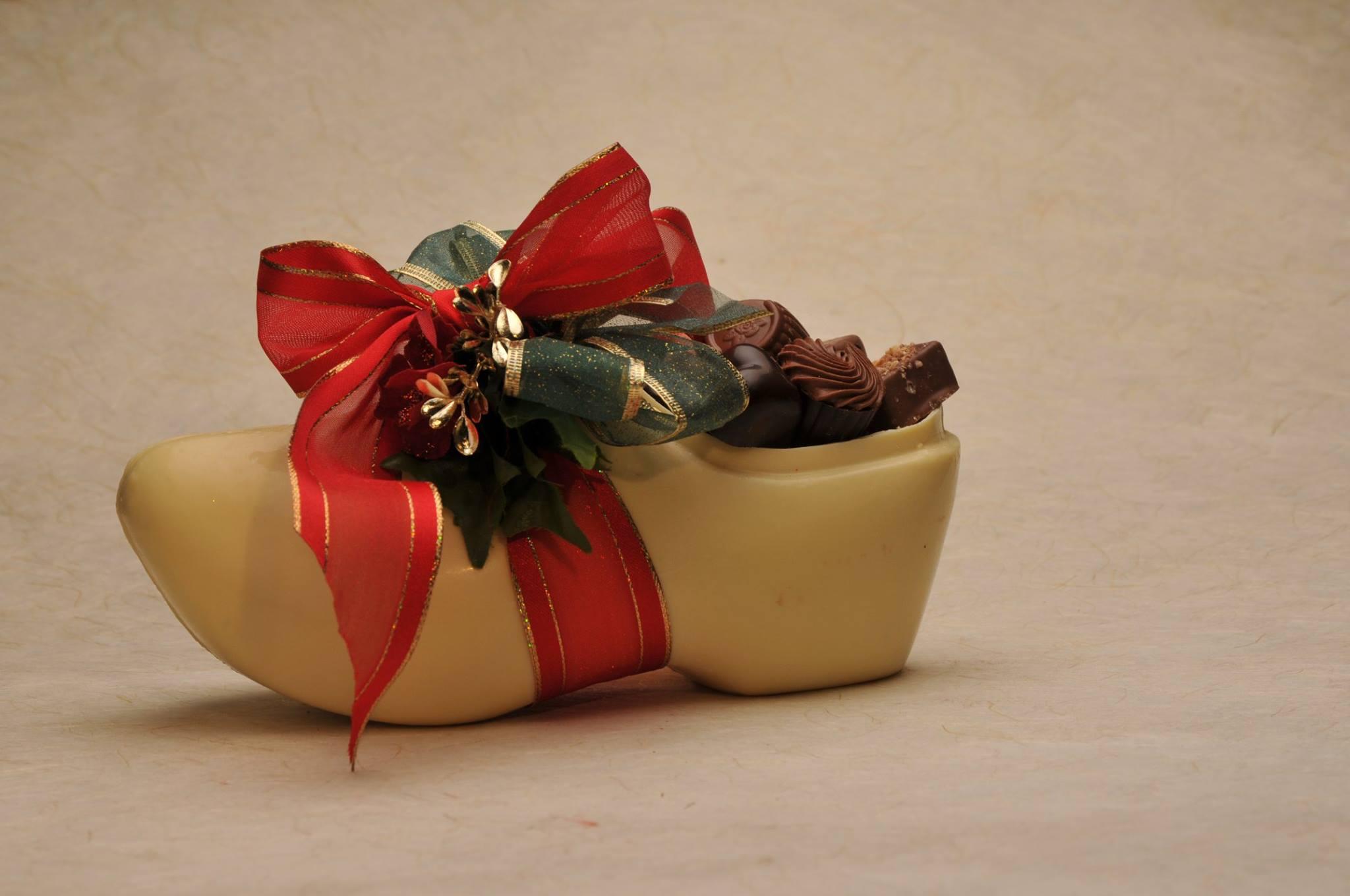 Chocolate Wooden Shoe