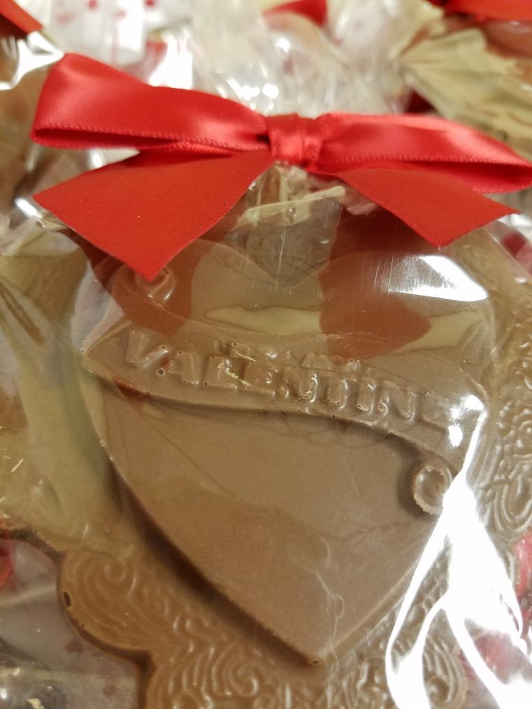 Lacey Valentine Chocolate Heart