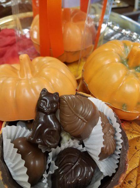 Chocolate Pumpkin Box